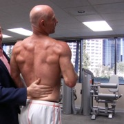 Darren Kavinoky Enjoying the Results he Achieved in Brian's Training Program