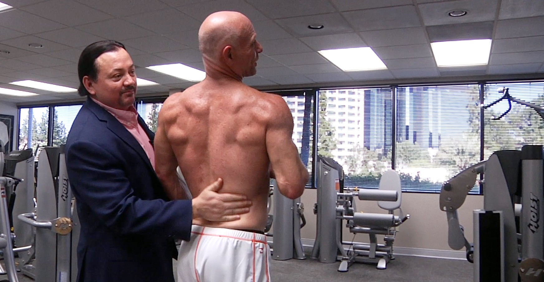 Darren Kavinoky Enjoying the Results he Achieved in Brian's Health and Physical Fitness Program