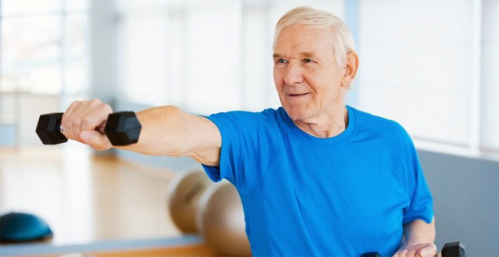Regular, moderate exercise is important for healthy aging