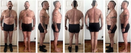 The physical results Bren received from the program were just as incredible as the mental benefits.