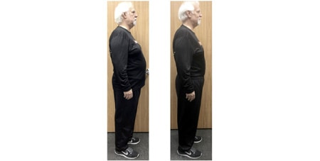 Robert lost over 25 pounds in 6 weeks.